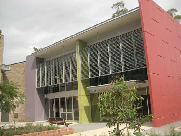 Musswellbrook Library exterior