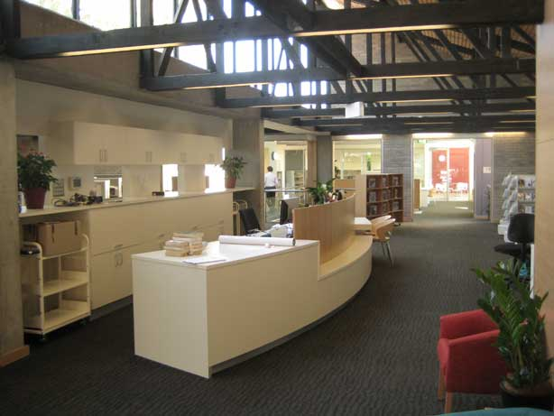 Musswellbrook Library interior
